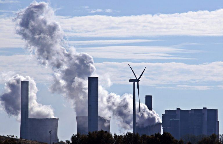 coal fired power plant, coal energy, wind edge